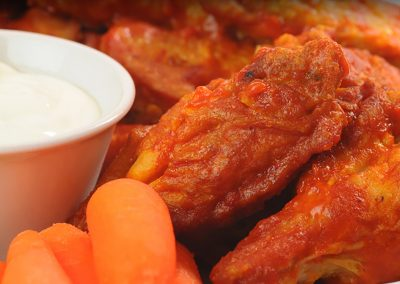 Science Fiction Chicken Wings